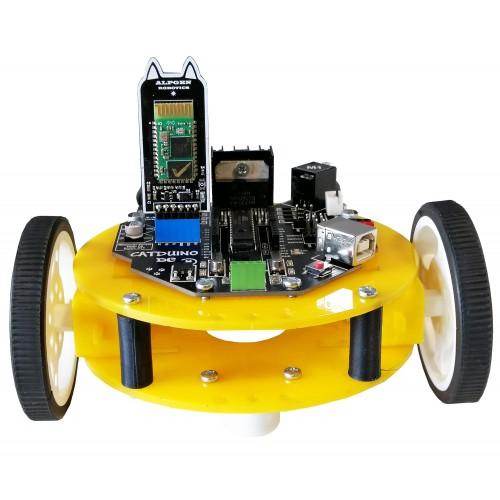 Bluetooth Kontrollü Robot Kiti