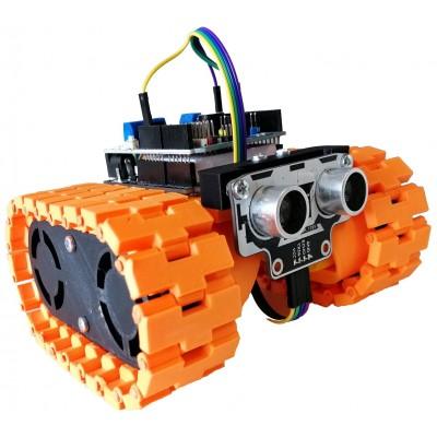 Mini Tank Engelden Kaçan Robot Seti